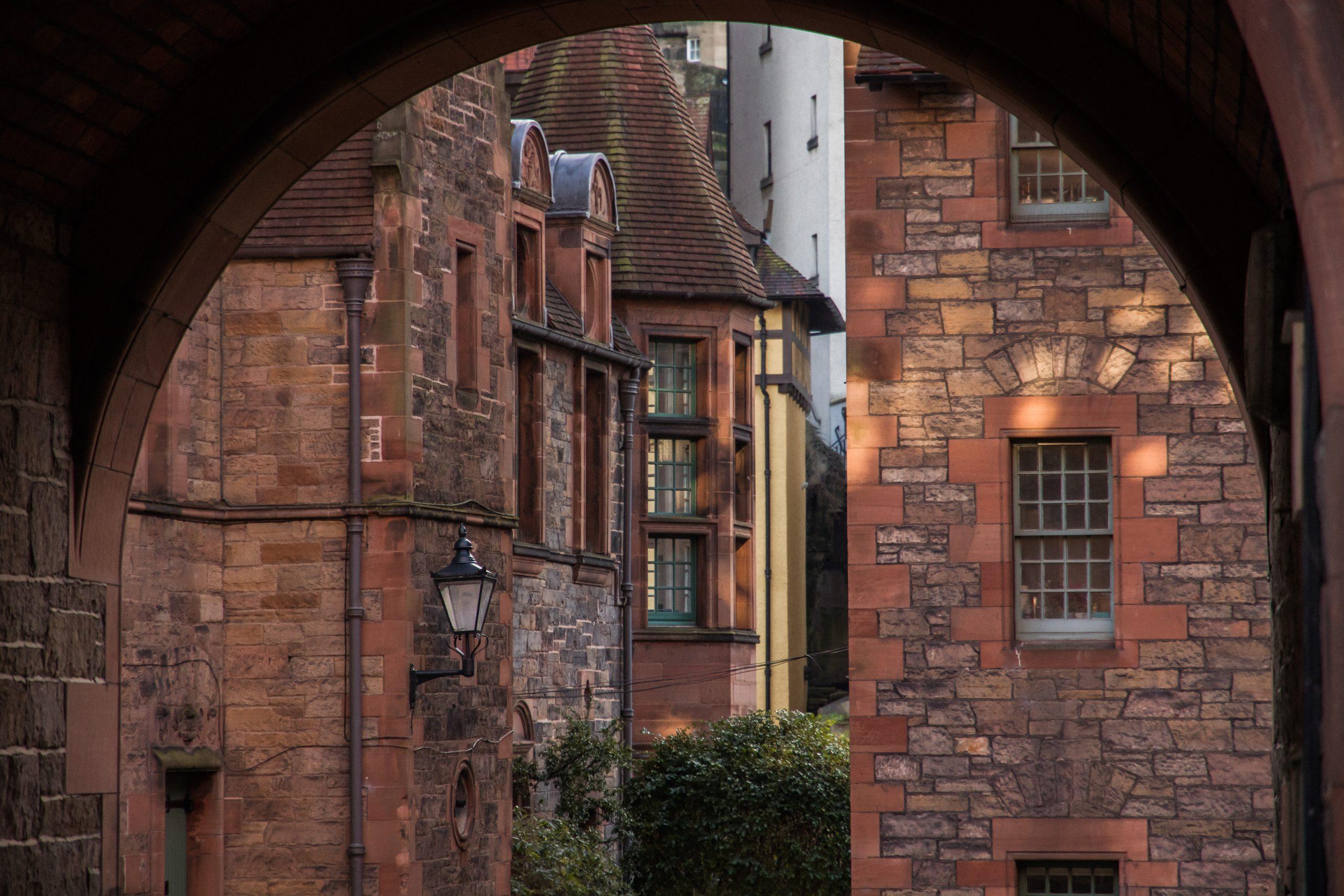 Dean Village: de rustigste plek van Edinburgh